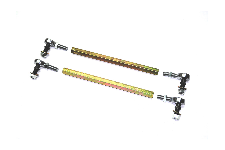 EVO Manufacturing Heavy Duty Sway Bar End Links 16.5-17.9in (Part Number:1036-16.5)