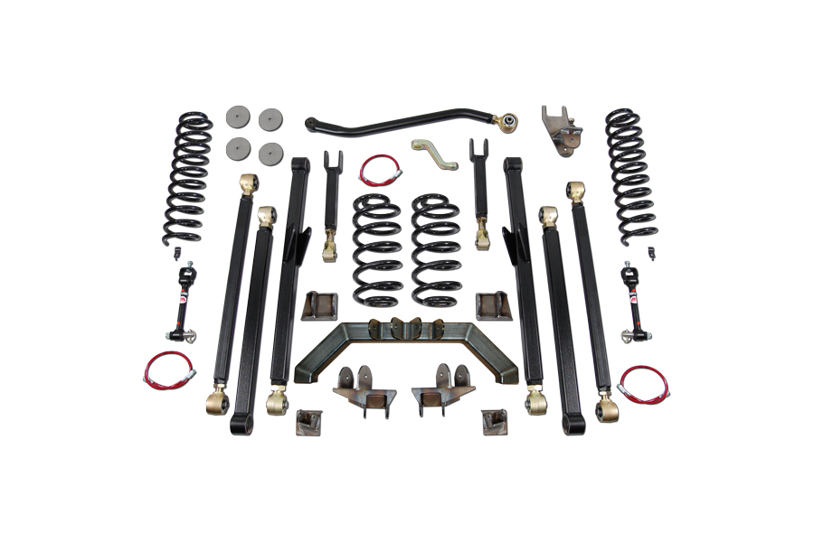 Clayton 4.0in Long Arm Suspension Lift Kit  (Part Number:3207010)
