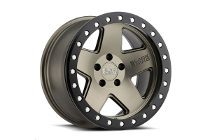 Black Rhino Crawler Beadlock Wheel 17x8.5 5x5 Matte Bronze W/Black Lip (Part Number: )