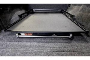 BedSlide 1000 Classic Cargo Slide System, 73inx48in - Black  - Ram 1500/2500/3500 2002+  w/ 6.4ft Bed