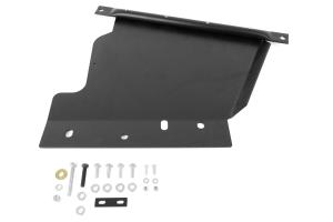 Rock Hard 4x4 Aluminum Transfer Case Skid Plate Black ( Part Number: RH6044)