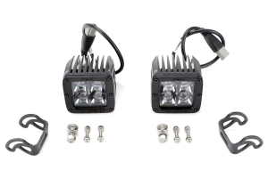 Rigid Industries D-Series Midnight Edition Lights Spot, Pair (Part Number: )