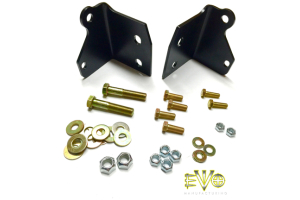 EVO Manufacturing Shock Relocation Brackets Front (Part Number: )