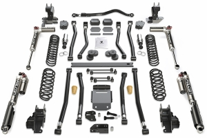 Teraflex Alpine RT4 4.5in Long Arm Lift Kit - w/Falcon SP2 3.3 Adjust. Shocks - JL 2dr