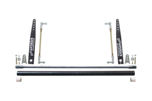 RockJock Universal AntiRock Sway Bar Kit w/20in Bent Steel Arms Universal