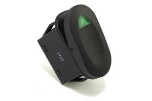Rugged Ridge 2-Position Rocker Switch Green