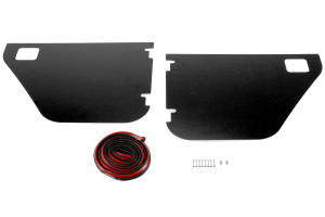 Bestop Element Door Enclosure Kit Rear Black  - JK 4dr