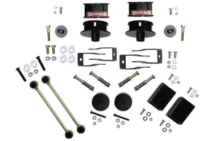Skyjacker Suspension 3.5 In Lift Dual Rate-Long Travel Lift Kit System W/ Black Max Shocks - JL Non-Rubicon