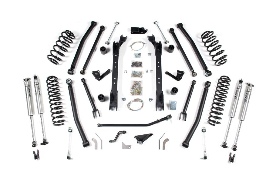 BDS Suspension 4.5in Long Arm Suspension Lift Kit - TJ