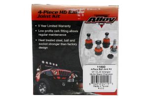 Alloy USA Heavy Duty 4-Piece Ball Joint Set - JK/WJ