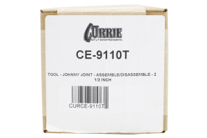 Currie Enterprises Johnny Joint Assembly / Disassembly Tool 2.5in (Part Number: )