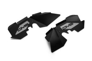 DV8 Offroad Aluminum Front Inner Fenders Black  - JK