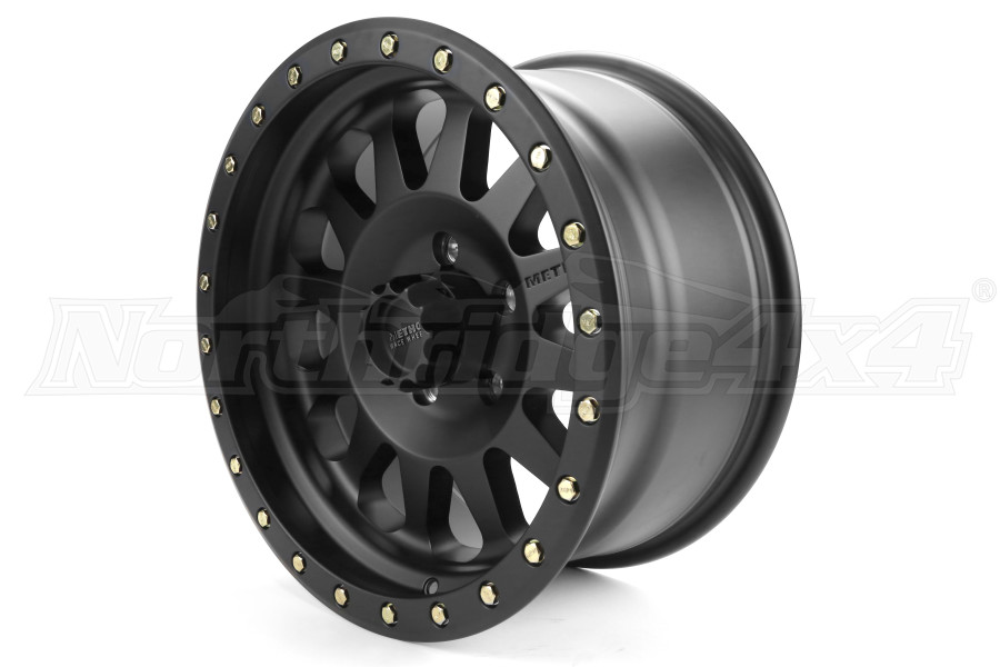Method Race Wheels Double Standard Series Wheel Matte Black 17x8.5 5x5 - JT/JL/JK