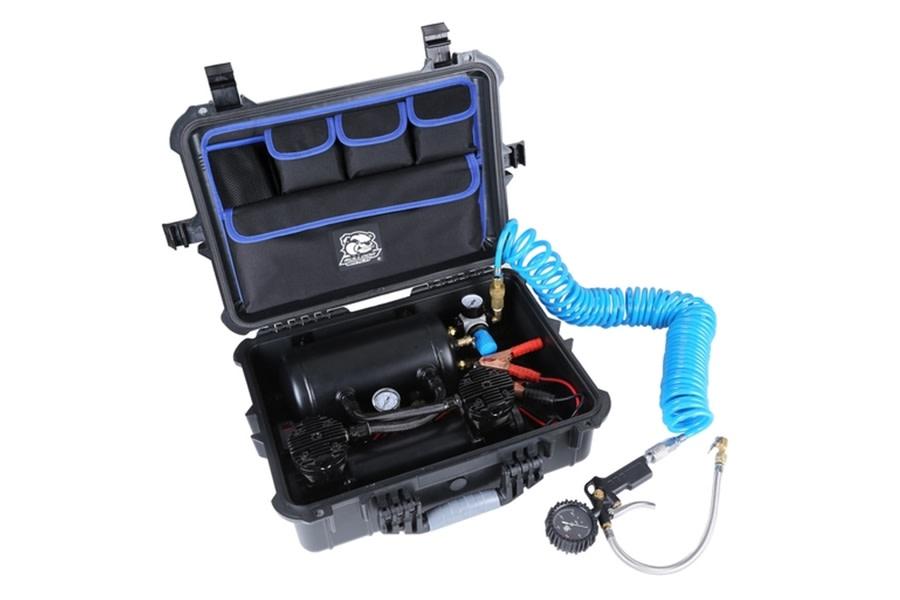 Bulldog Winch On-Board Air System w/ Portable Case