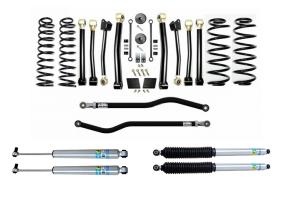 Evo Manufacturing 2.5in Enforcer Stage 4 PLUS Lift Kit w/ Bilstein Shocks - JL Diesel