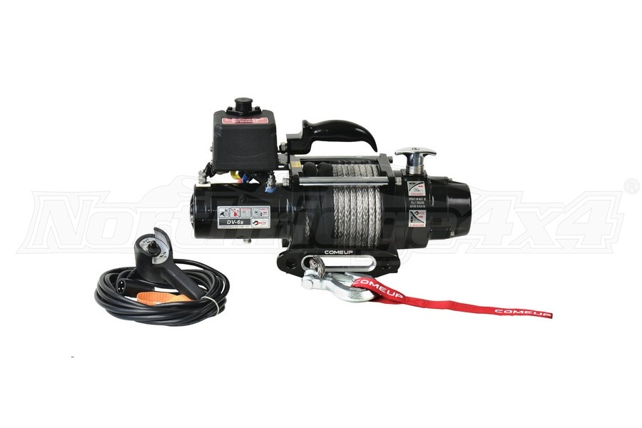 Comeup DV Premium Series 6s Recovery Winch w/ Synthetic Rope (Part Number:854754)