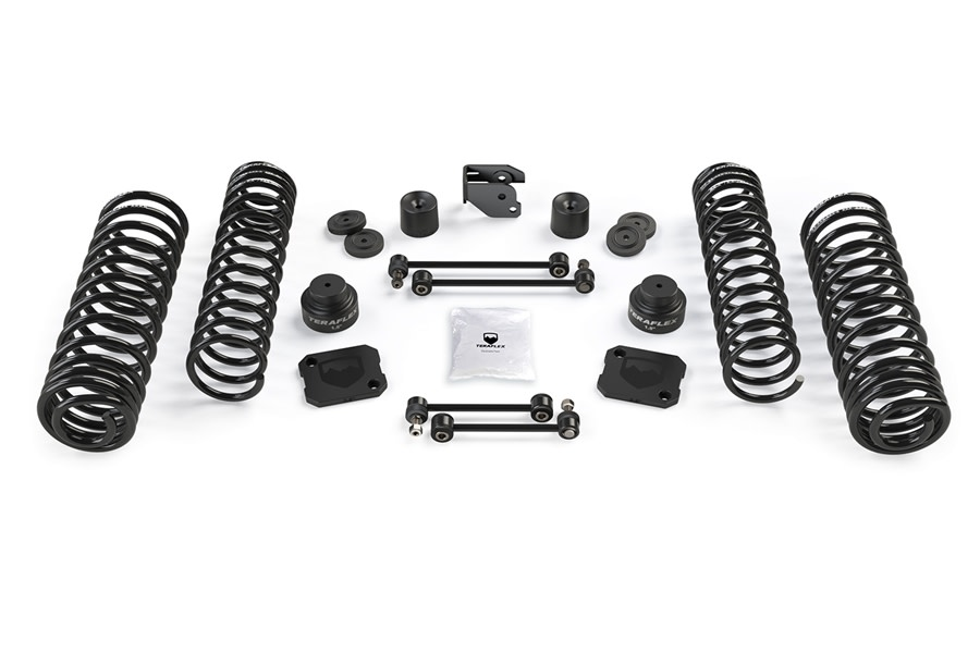 Teraflex 3.5in Coil Spring Base Lift Kit - No Shocks - JT