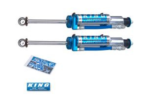 King Shocks 2.5 OEM Performance Series Front Shocks w/Piggy Back Reservoir 3-5in Lift (Part Number: )