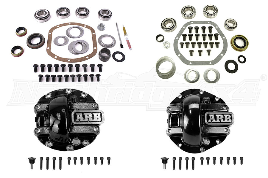 Non Rubicon Dana 30/44 Gear And Diff Cover Bundle (Part Number:RBUNDLE)