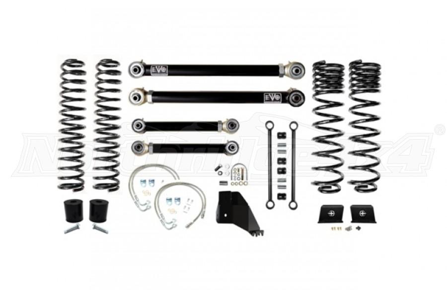 EVO Manufacturing 4.5in Enforcer Lift Kit Stage 3 - JT