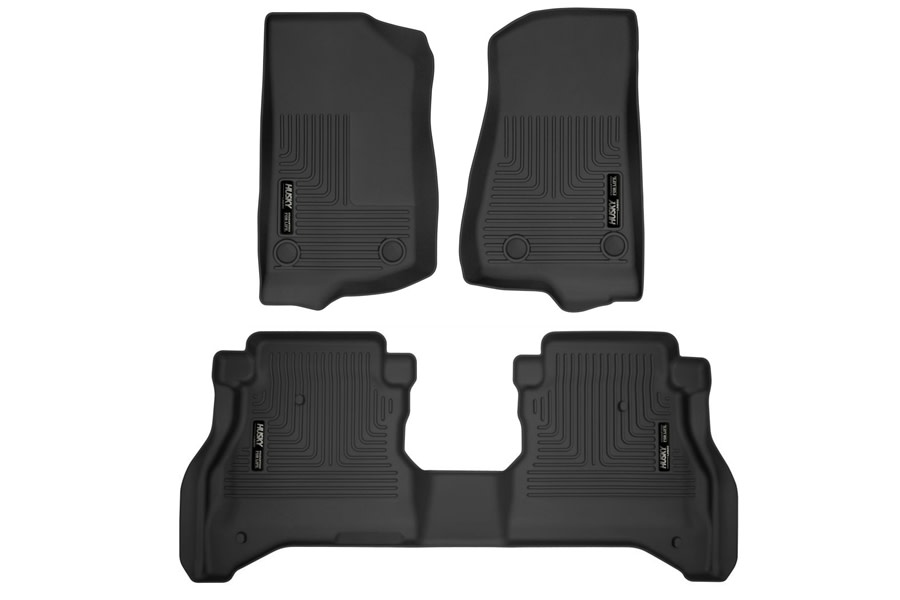 Husky Liners X-Act Front and Rear Contour Floor Liners - JT