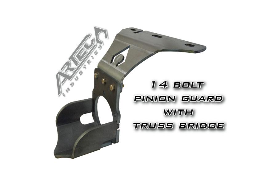 Artec Industries 14 Bolt Pinion Guard w/Bridge, High Mount (Part Number:PG1402)