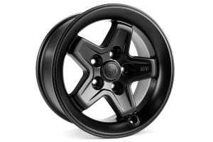 AEV Flat Black Pintler Wheel 17x8.5 ( Part Number: 20402022AB)