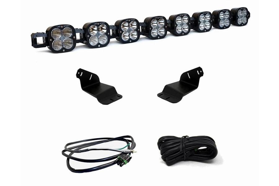 Baja Designs 8 XL Series Linkable Roof Light Bar Kit w/ Upfitter  - Ford Bronco