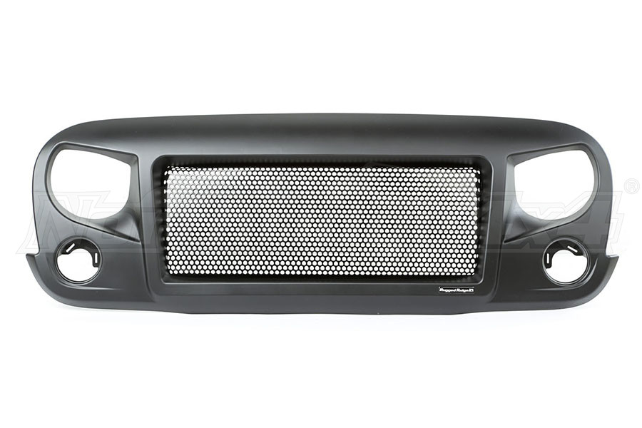 Rugged Ridge Spartan Grill Satin Black (Part Number:12034.01)