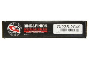 G2 Axle & Gear Dana 35 Rear Master Ring and Pinion Install Kit (Part Number: )
