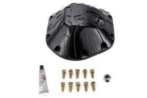 Poison Spyder Bombshell Dana 44 Diff Cover Black - JK/LJ/TJ