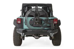 Smittybilt XRC Gen2 Rear Bumper Tire Carrier, Light Texture (Part Number: )