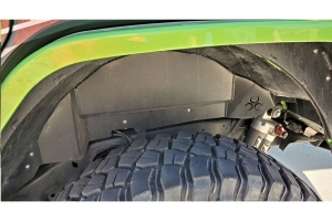 Nemesis Industries Rear Inner Fender Liner, Bare - JL