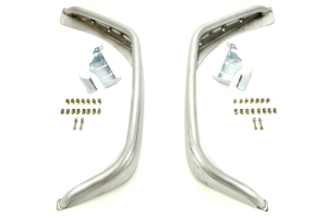 Poison Spyder Standard Width Crusher Flares Rear Aluminum ( Part Number: 17-05-010-ALUM)