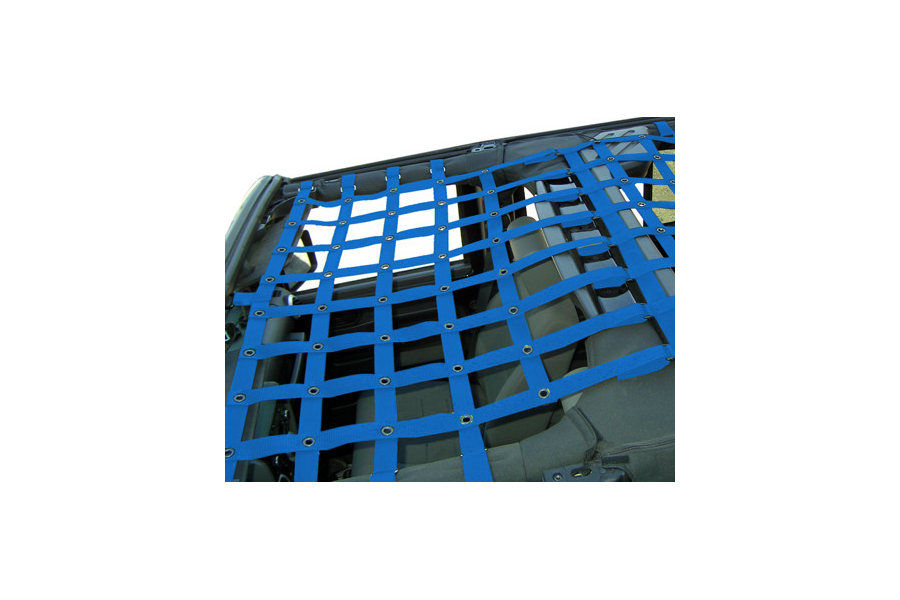 Dirty Dog 4x4 Front Netting Blue (Part Number:J4NN07F1BL)