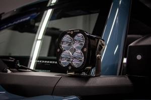 Baja Designs Squadron Sport A-Pillar Light Kit  - Ford Bronco