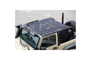 Rugged Ridge Eclipse Sun Shade, Black (Part Number: )