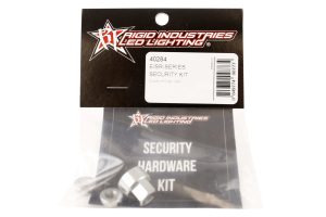 Rigid Industries E and SR Series Light Security Hardware