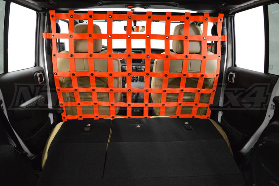 Dirty Dog 4X4 Cargo/Pet Divider Orange - JL 4dr