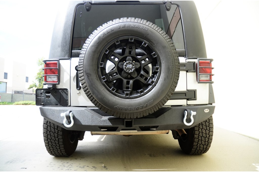 DV8 Offroad RS-6 Full Length Rear Bumper  (Part Number:RBSTTB-06)
