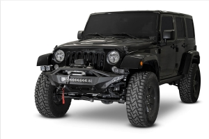 Addictive Desert Designs Stealth Fighter Winch Front Bumper - JK