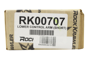 Rock Krawler Adjustable Lower Control Arms 2-4in Lift (Part Number: )
