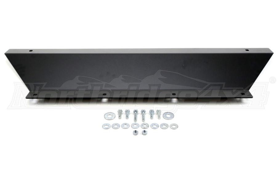 LOD Signature Series Shorty Front Bumper Skid Plate Black Powder Coated - JK