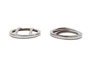 Kentrol Side Marker Cover Set - Polished Silver  - JK