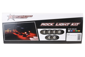 Rigid Industries A-Series Rock Light Kit Cool White (Part Number: )