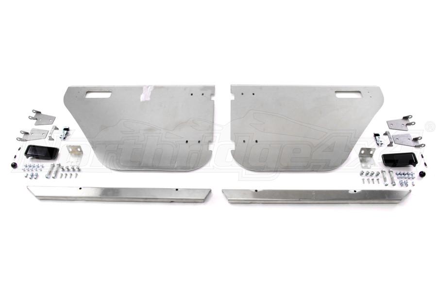 Savvy Offroad Aluminum Rear Half Doors (Part Number:SAV-JKRHD)