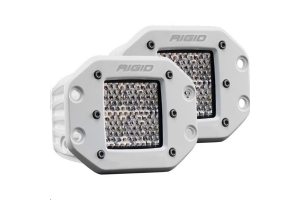 Rigid Industries D-Series Pro Hybrid Diffused Flush Mount, Pair (Part Number: )