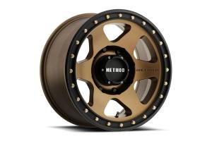 Method Race Wheels 310 Con6 Wheel, 17x8.5 6x5.5 - Bronze Black  - Ford Bronco