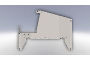 Clayton Transfer Case Skid Plate  - JK 2007-11