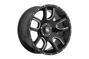 Pro Comp LRG108 20x9 5x5 Black w/ Milled  (Part Number: )